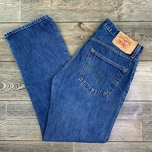 Levi's 501 XX Button Fly Classic Fit Jeans.